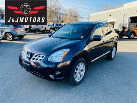 2013 Nissan Rogue for sale at J & J MOTORS in New Milford CT
