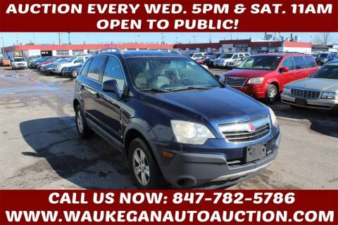 2009 Saturn Vue for sale at Waukegan Auto Auction in Waukegan IL