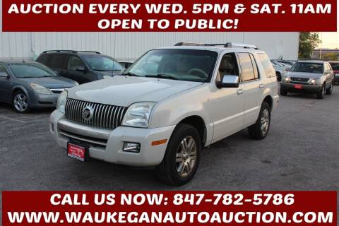 2006 Mercury Mountaineer for sale at Waukegan Auto Auction in Waukegan IL