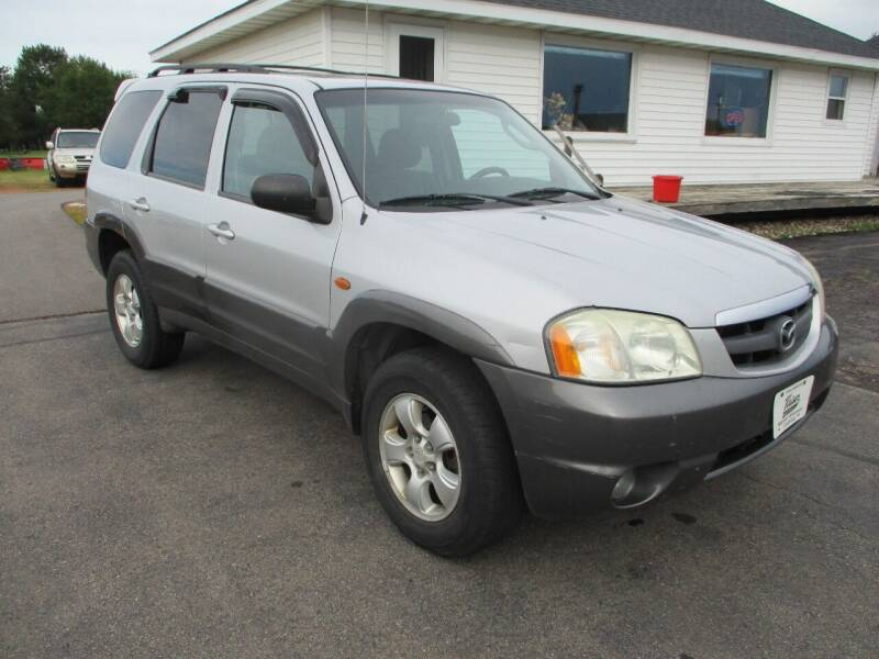 2004 Mazda Tribute for sale at KAISER AUTO SALES in Spencer WI