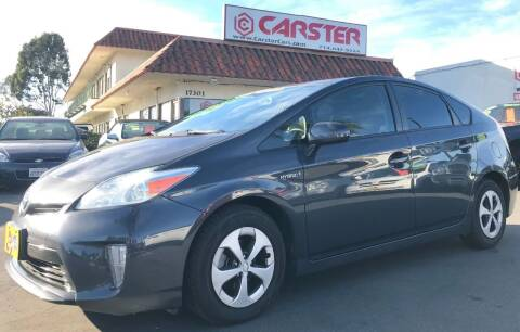 2012 Toyota Prius for sale at CARSTER in Huntington Beach CA