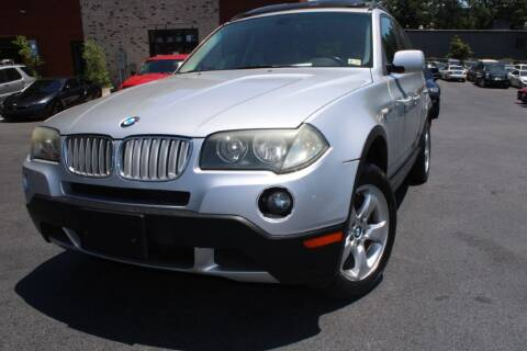 2008 BMW X3 for sale at Atlanta Unique Auto Sales in Norcross GA