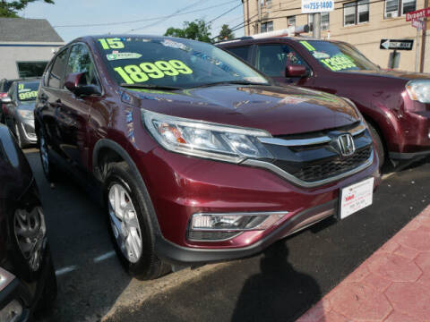 2015 Honda CR-V for sale at M & R Auto Sales INC. in North Plainfield NJ