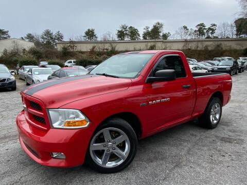 2012 RAM Ram Pickup 1500 for sale at Car Online in Roswell GA