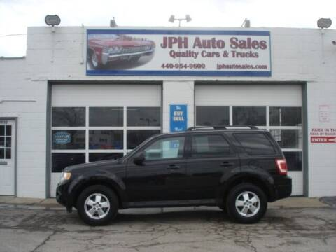 2011 Ford Escape for sale at JPH Auto Sales in Eastlake OH