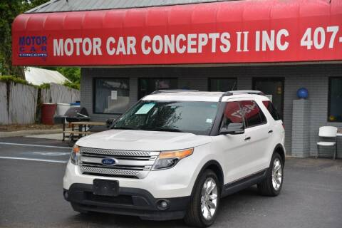 2013 Ford Explorer for sale at Motor Car Concepts II - Apopka Location in Apopka FL