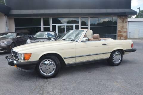 1987 Mercedes-Benz 560-Class for sale at Amyn Motors Inc. in Tucker GA