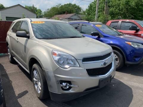 2015 Chevrolet Equinox for sale at Eagle Motors in Hamilton OH