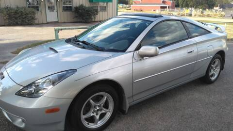 2001 Toyota Celica for sale at Haigler Motors Inc in Tyler TX