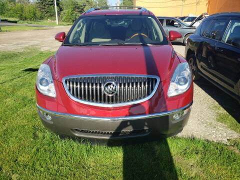 2012 Buick Enclave for sale at Fansy Cars in Mount Morris MI