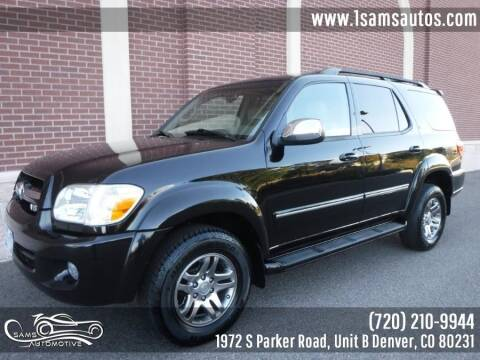 2007 Toyota Sequoia for sale at SAM'S AUTOMOTIVE in Denver CO