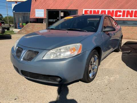 2008 Pontiac G6 for sale at Cars To Go in Lafayette IN