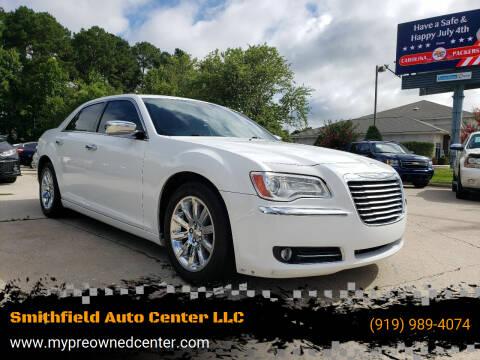 2012 Chrysler 300 for sale at Smithfield Auto Center LLC in Smithfield NC