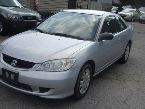 2005 Honda Civic for sale at QUALITY AUTO SALES OF NEW YORK in Medford NY