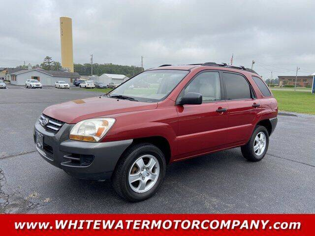 2007 Kia Sportage for sale at WHITEWATER MOTOR CO in Milan IN