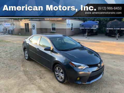 2016 Toyota Corolla for sale at American Motors, Inc. in Farmington MN