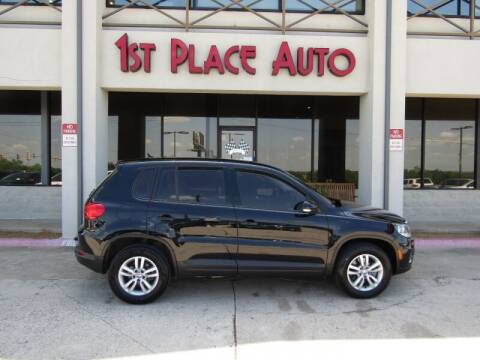 2014 Volkswagen Tiguan for sale at First Place Auto Ctr Inc in Watauga TX
