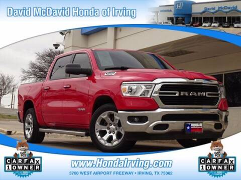 2019 RAM Ram Pickup 1500 for sale at DAVID McDAVID HONDA OF IRVING in Irving TX