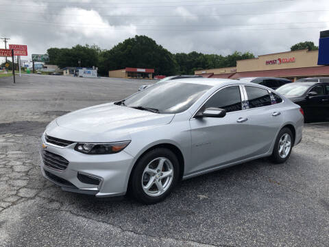 2016 Chevrolet Malibu for sale at Penland Automotive Group in Laurens SC