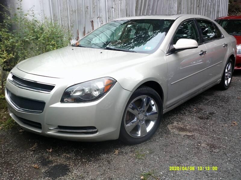 2012 Chevrolet Malibu for sale at Jack Mansur's Auto LLC in Pelham NH