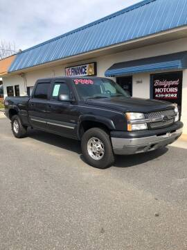 2004 Chevrolet Silverado 2500 for sale at BRIDGEPORT MOTORS in Morganton NC