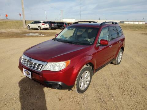 2011 Subaru Forester for sale at BERG AUTO MALL & TRUCKING INC in Beresford SD