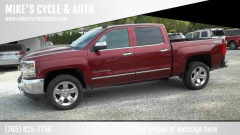 2016 Chevrolet Silverado 1500 for sale at MIKE'S CYCLE & AUTO - Mikes Cycle and Auto (Liberty) in Liberty IN
