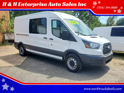 2016 Ford Transit Cargo for sale at H & H Enterprise Auto Sales Inc in Charlotte NC