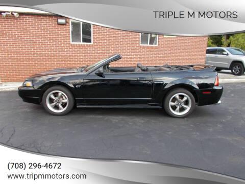 2000 Ford Mustang for sale at Triple M Motors in Saint John IN