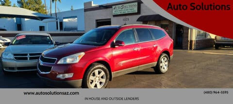 2011 Chevrolet Traverse for sale at Auto Solutions in Mesa AZ