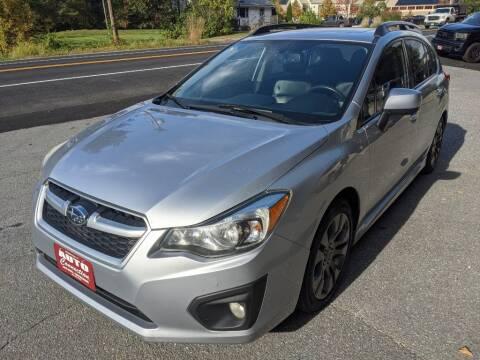 2012 Subaru Impreza for sale at AUTO CONNECTION LLC in Springfield VT