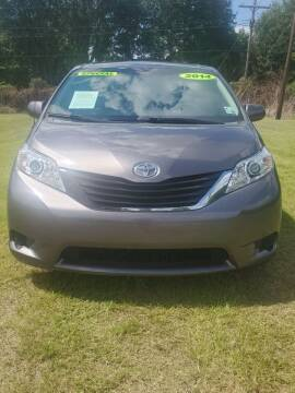 2014 Toyota Sienna for sale at CAPITOL AUTO SALES LLC in Baton Rouge LA