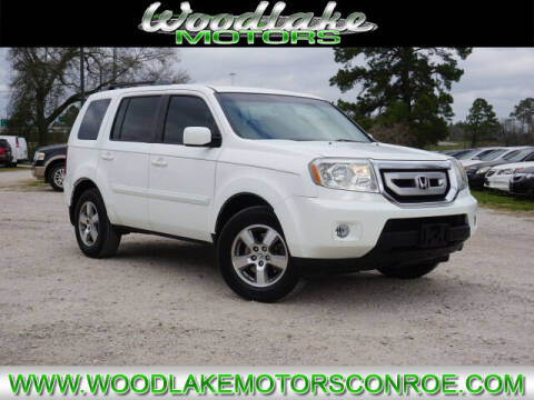 2010 Honda Pilot for sale at WOODLAKE MOTORS in Conroe TX