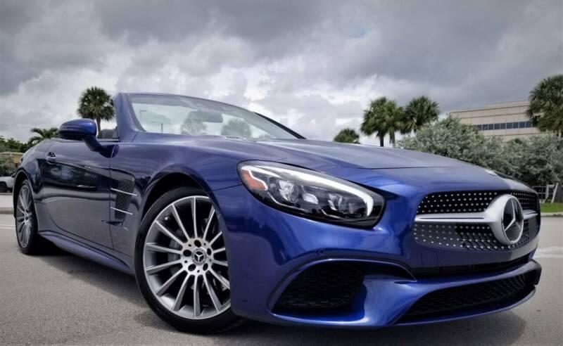 2019 Mercedes-Benz SL-Class for sale at Progressive Motors in Pompano Beach FL