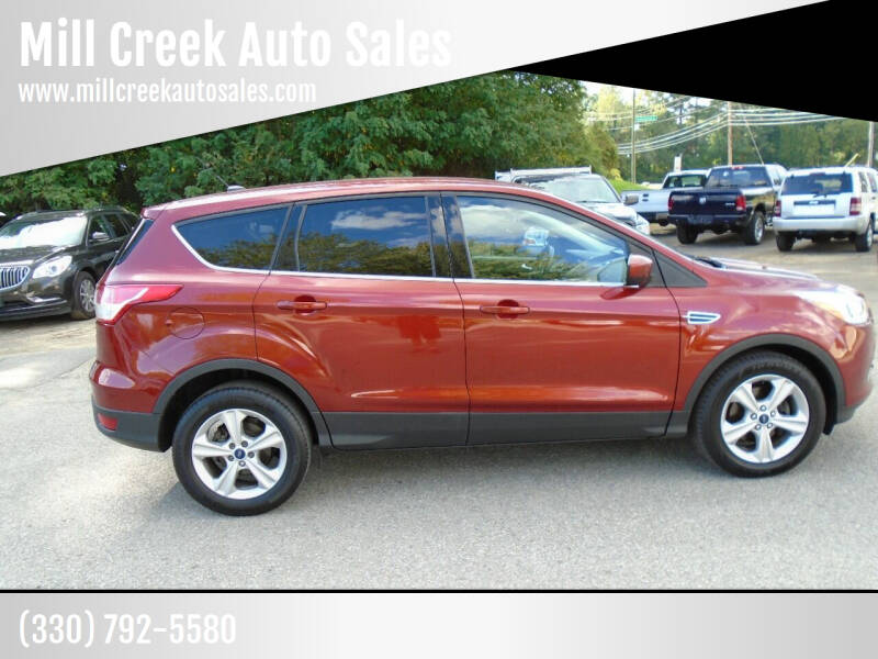 2014 Ford Escape for sale at Mill Creek Auto Sales in Youngstown OH
