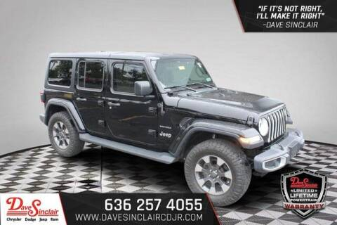 2018 Jeep Wrangler Unlimited for sale at Dave Sinclair Chrysler Dodge Jeep Ram in Pacific MO