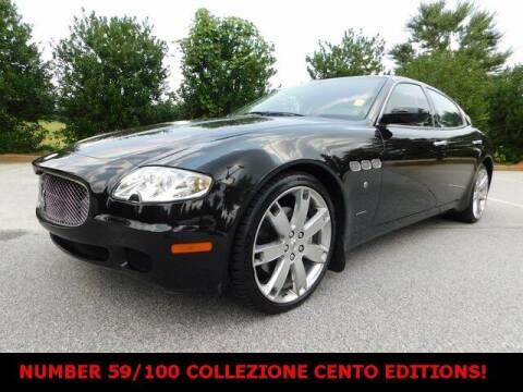 2008 Maserati Quattroporte for sale at Redline Performance group LLC in Douglasville GA