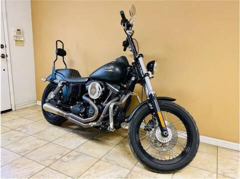 2014 HARLEY DAVIDSON FXDB103 / Dyna Street Bob for sale at KARS R US in Modesto CA