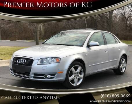 2005 Audi A4 for sale at Premier Motors of KC in Kansas City MO