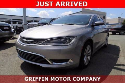 2015 Chrysler 200 for sale at Griffin Buick GMC in Monroe NC
