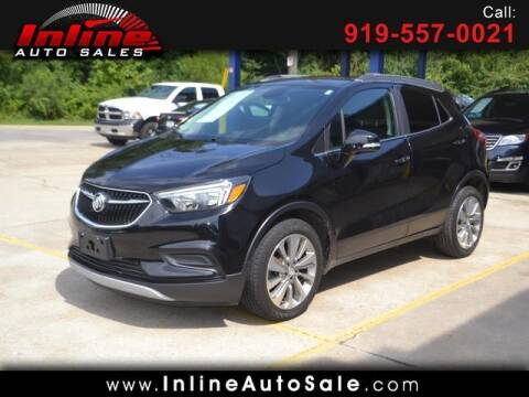 2017 Buick Encore for sale at Inline Auto Sales in Fuquay Varina NC