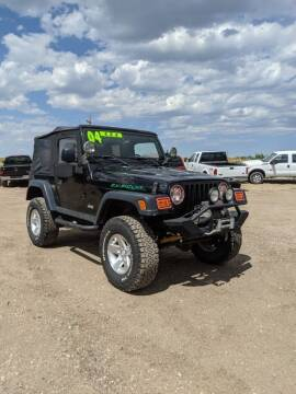 2004 Jeep Wrangler for sale at HORSEPOWER AUTO BROKERS in Fort Collins CO