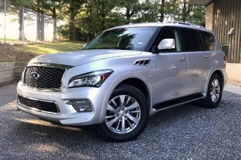 2016 Infiniti QX80 for sale at TRUST AUTO in Sykesville MD