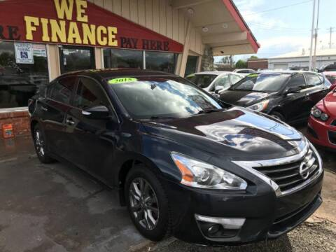 2015 Nissan Altima for sale at Caspian Auto Sales in Oklahoma City OK