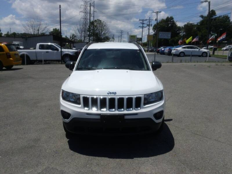 2015 Jeep Compass for sale at Knoxville Used Cars in Knoxville TN