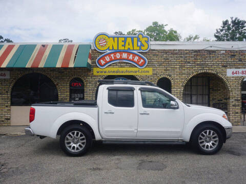 2012 Nissan Frontier for sale at Oneal's Automart LLC in Slidell LA