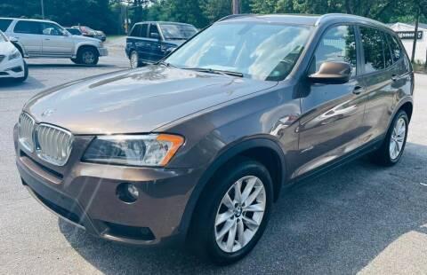 2013 BMW X3 for sale at Klassic Cars in Lilburn GA
