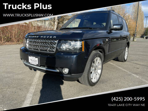 2012 Land Rover Range Rover for sale at Trucks Plus in Seattle WA