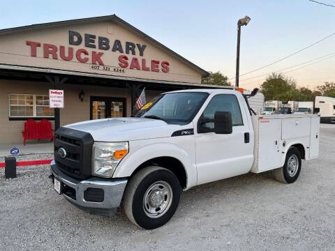 2011 Ford F-350 Super Duty for sale at DEBARY TRUCK SALES in Sanford FL