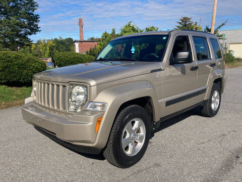 2010 Jeep Liberty for sale at D'Ambroise Auto Sales in Lowell MA
